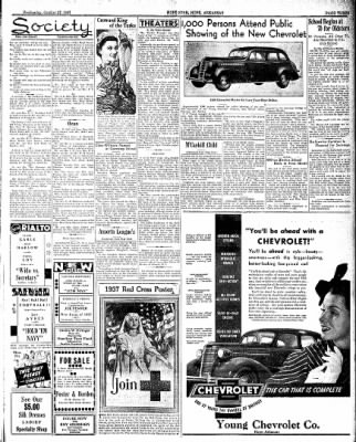 Hope Star from Hope, Arkansas on October 27, 1937 · Page 3