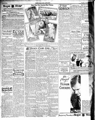 Hope Star from Hope, Arkansas on October 2, 1934 · Page 2