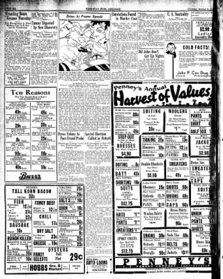 Hope Star from Hope, Arkansas on October 3, 1935 · Page 6