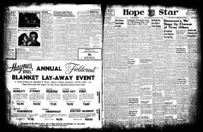 Hope Star from Hope, Arkansas on July 19, 1952 · Page 1