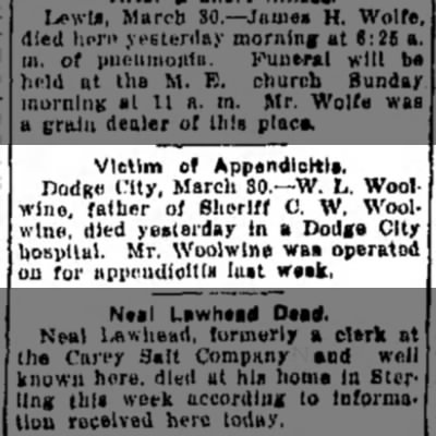 W L Woolwine