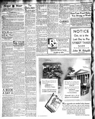 Hope Star from Hope, Arkansas on October 9, 1935 · Page 2