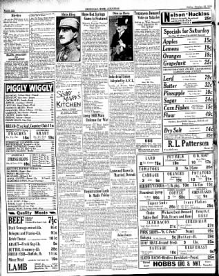 Hope Star from Hope, Arkansas on October 12, 1934 · Page 6