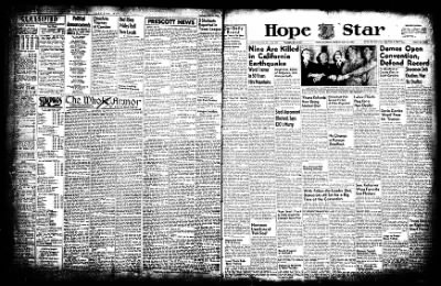 Hope Star from Hope, Arkansas on July 21, 1952 · Page 3