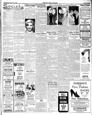 Hope Star from Hope, Arkansas on November 10, 1937 · Page 3