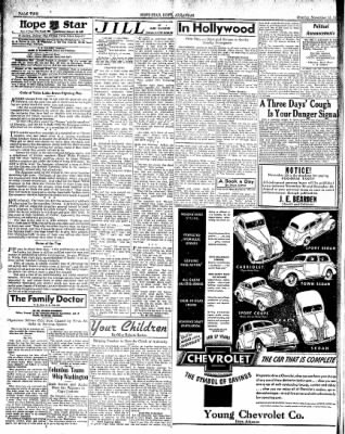 Hope Star from Hope, Arkansas on November 15, 1937 · Page 2