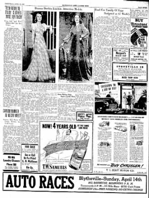 The Courier News from Blytheville, Arkansas on April 10, 1940 · Page 7
