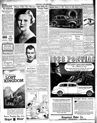 Hope Star from Hope, Arkansas on November 16, 1937 · Page 6