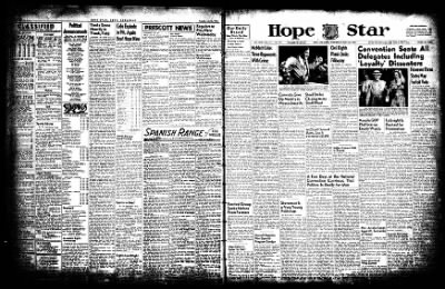 Hope Star from Hope, Arkansas on July 23, 1952 · Page 4