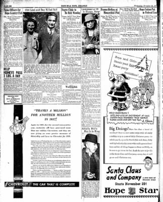 Hope Star from Hope, Arkansas on November 24, 1937 · Page 6