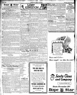 Hope Star from Hope, Arkansas on November 27, 1937 · Page 2