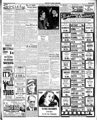 Hope Star from Hope, Arkansas on December 7, 1937 · Page 3