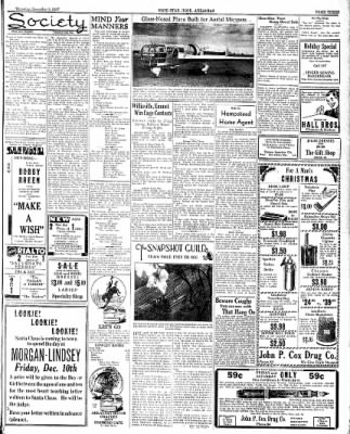 Hope Star from Hope, Arkansas on December 9, 1937 · Page 3