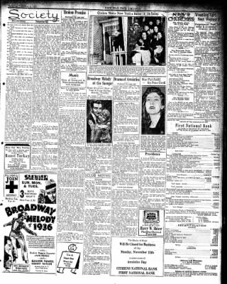 Hope Star from Hope, Arkansas on November 9, 1935 · Page 3