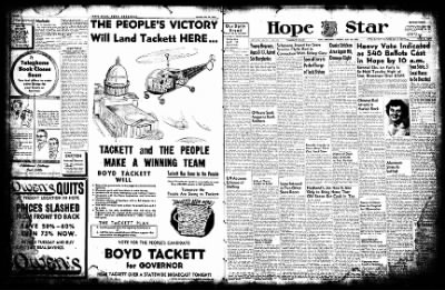 Hope Star from Hope, Arkansas on July 29, 1952 · Page 1