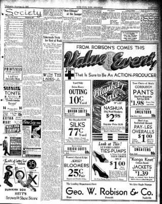 Hope Star from Hope, Arkansas on November 13, 1935 · Page 3