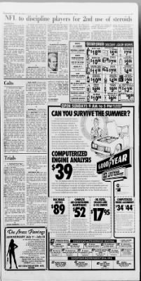 The Indianapolis Star from Indianapolis, Indiana on July 20, 1988 · Page 17