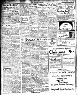 Hope Star from Hope, Arkansas on November 20, 1935 · Page 2