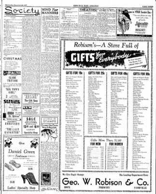 Hope Star from Hope, Arkansas on December 22, 1937 · Page 3