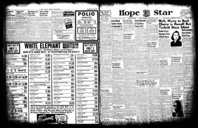 Hope Star from Hope, Arkansas on July 31, 1952 · Page 1