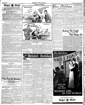 Hope Star from Hope, Arkansas on December 27, 1937 · Page 2