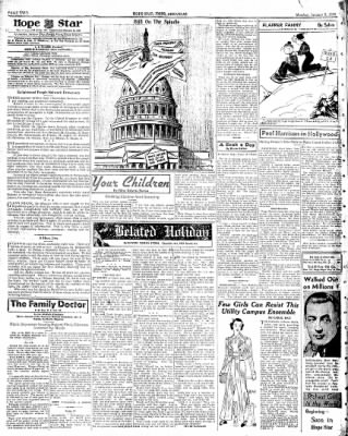 Hope Star from Hope, Arkansas on January 3, 1938 · Page 2