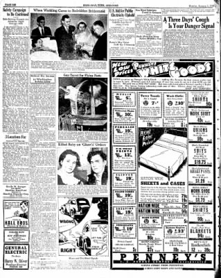 Hope Star from Hope, Arkansas on January 3, 1938 · Page 6