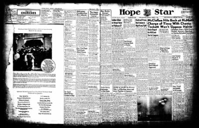 Hope Star from Hope, Arkansas on August 1, 1952 · Page 14