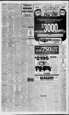 The Indianapolis Star From Indianapolis, Indiana On December 16, 1988 ·  Page 86