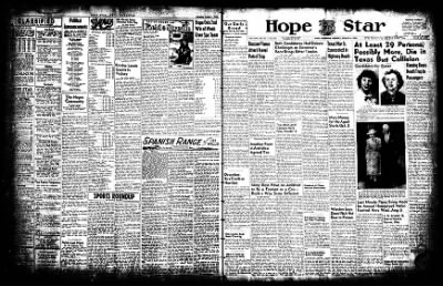 Hope Star from Hope, Arkansas on August 4, 1952 · Page 1