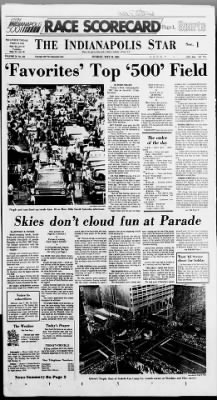 The Indianapolis Star from Indianapolis, Indiana on May 24, 1981 · Page 1