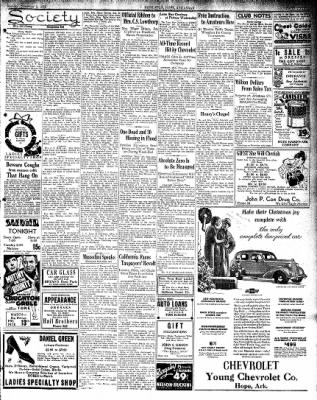 Hope Star from Hope, Arkansas on December 9, 1935 · Page 3