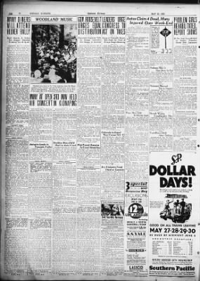 Oakland Tribune from Oakland, California on May 23, 1932 · Page 38