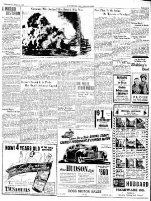 The Courier News from Blytheville, Arkansas on April 24, 1940 · Page 5