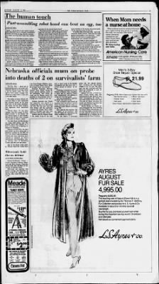 The Indianapolis Star from Indianapolis, Indiana on August 25, 1985 · Page 7