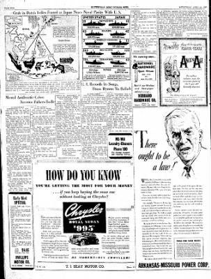 The Courier News from Blytheville, Arkansas on April 24, 1940 · Page 10