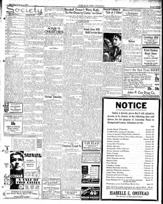 Hope Star from Hope, Arkansas on January 4, 1936 · Page 11