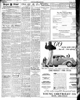 Hope Star from Hope, Arkansas on January 6, 1936 · Page 2