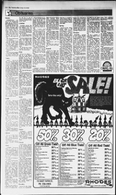 Terrific The Anniston Star From Anniston Alabama On October 28 1983 Gmtry Best Dining Table And Chair Ideas Images Gmtryco