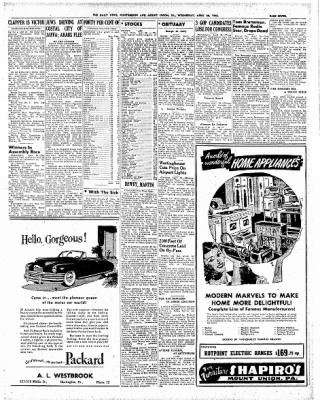The Daily News from Huntingdon, Pennsylvania on April 28, 1948 · Page 7