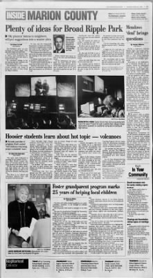 The Indianapolis Star From Indianapolis Indiana On April 29 1997