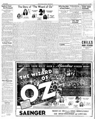 Hope Star from Hope, Arkansas on September 14, 1939 · Page 6
