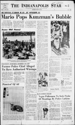 The Indianapolis Star from Indianapolis, Indiana on May 18, 1975 · Page 1