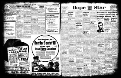 Hope Star from Hope, Arkansas on August 14, 1952 · Page 1