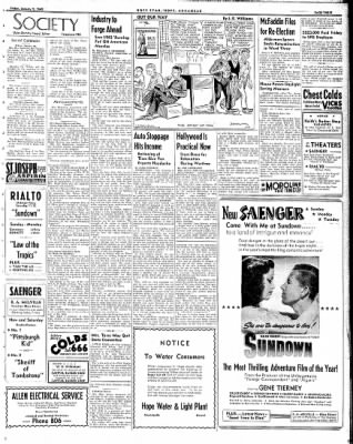 Hope Star from Hope, Arkansas on January 9, 1942 · Page 3