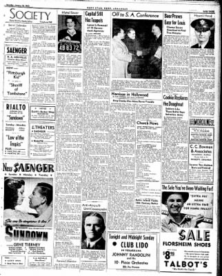 Hope Star from Hope, Arkansas on January 10, 1942 · Page 3