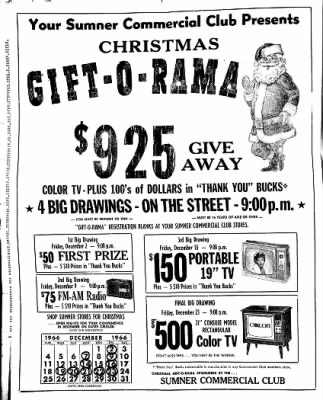 The Sumner Gazette from Sumner, Iowa on November 24, 1966 · Page 4