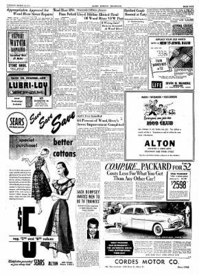 Alton Evening Telegraph from Alton, Illinois on March 18, 1952 · Page 5