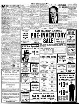 Globe-Gazette from Mason City, Iowa on December 15, 1936 · Page 47