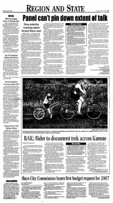 The Hays Daily News from Hays, Kansas on June 9, 2006 · Page 3